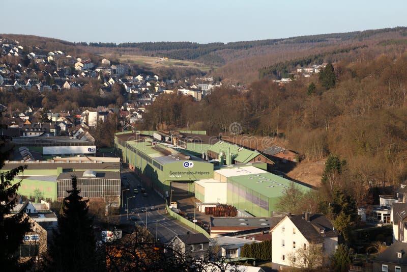 Ciudad Siegen, Alemania fotos de archivo
