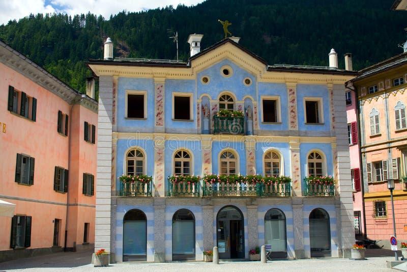 Ciudad suiza foto de archivo libre de regalías