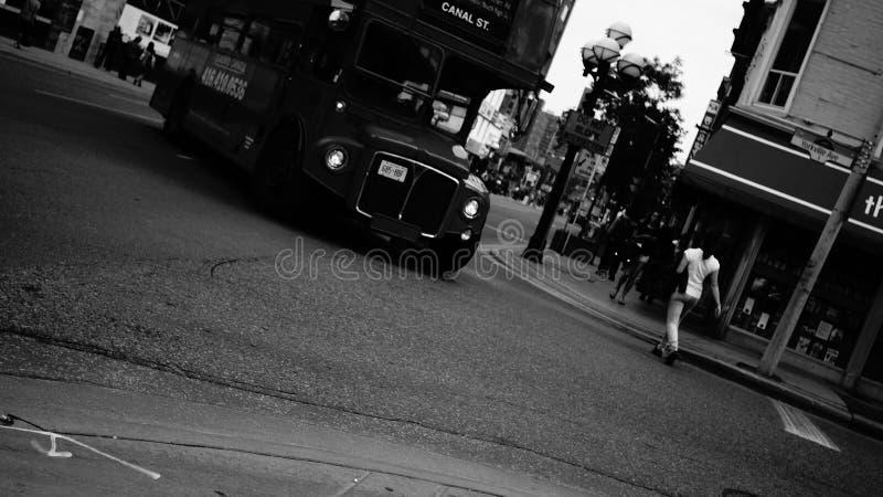 Ciudad Tourbus de Toronto fotografía de archivo libre de regalías