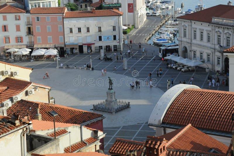Ciudad turística imagen de archivo