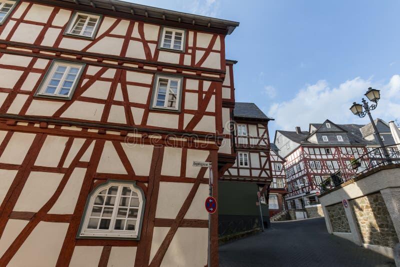 Ciudad vieja Alemania wetzlar foto de archivo libre de regalías