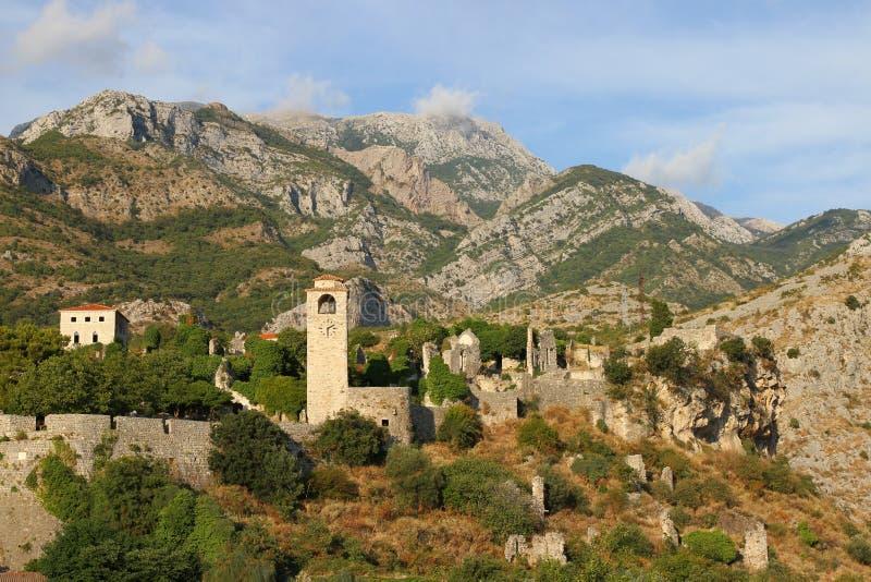 Ciudad vieja, barra, Montenegro foto de archivo libre de regalías