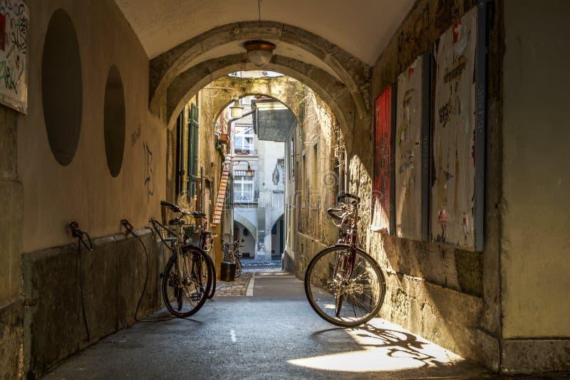 Ciudad vieja Berna céntrica fotos de archivo