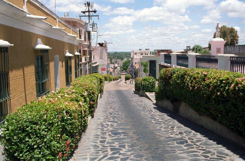 Ciudad vieja, Ciudad Bolivar, Venezuela foto de archivo libre de regalías