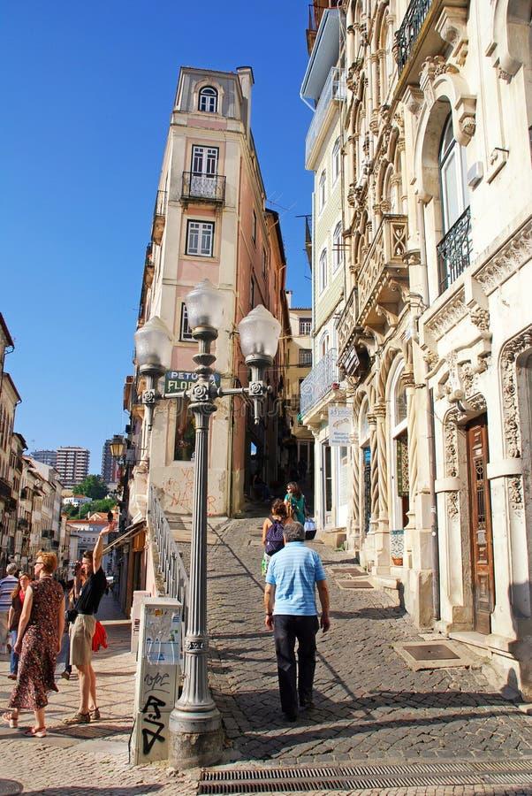 Download Ciudad Vieja, Coímbra, Portugal Foto de archivo editorial - Imagen de cultura, viejo: 42425013