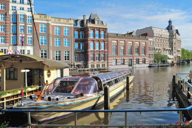 Ciudad vieja de Amsterdam imágenes de archivo libres de regalías
