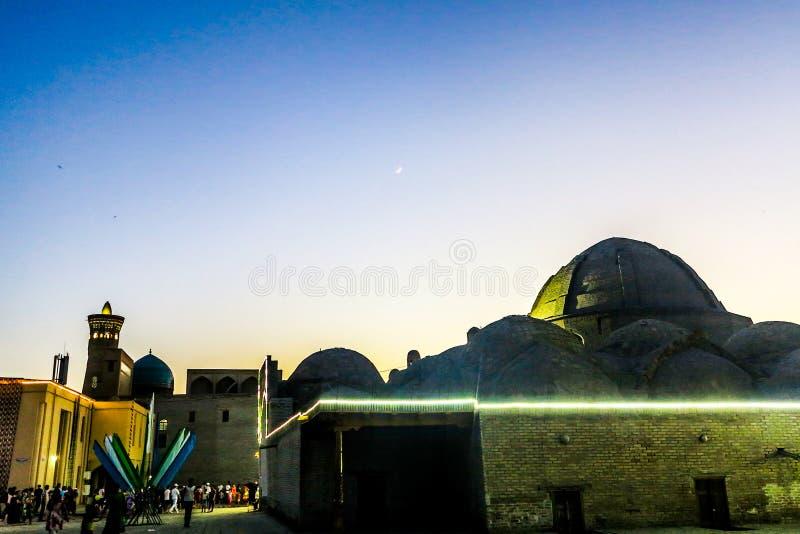 Ciudad vieja 56 de Bukhara imágenes de archivo libres de regalías