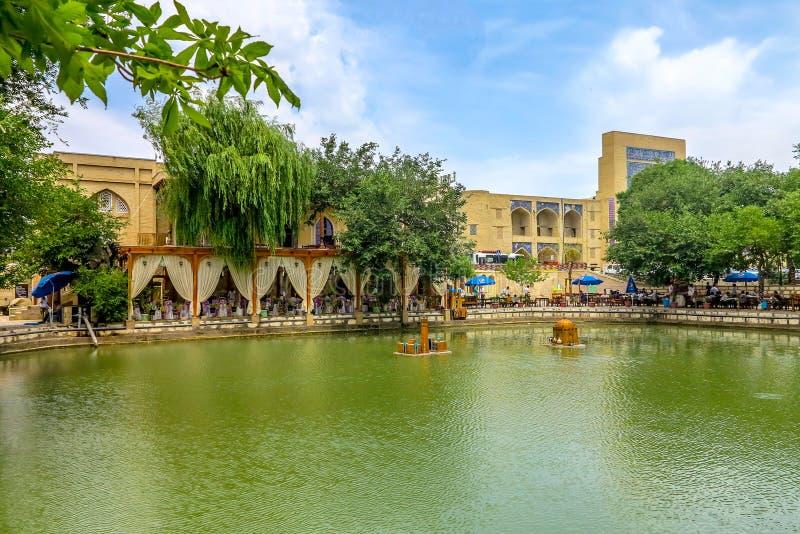 Ciudad vieja 91 de Bukhara imagen de archivo