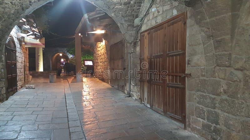 Ciudad vieja de Byblos fotografía de archivo