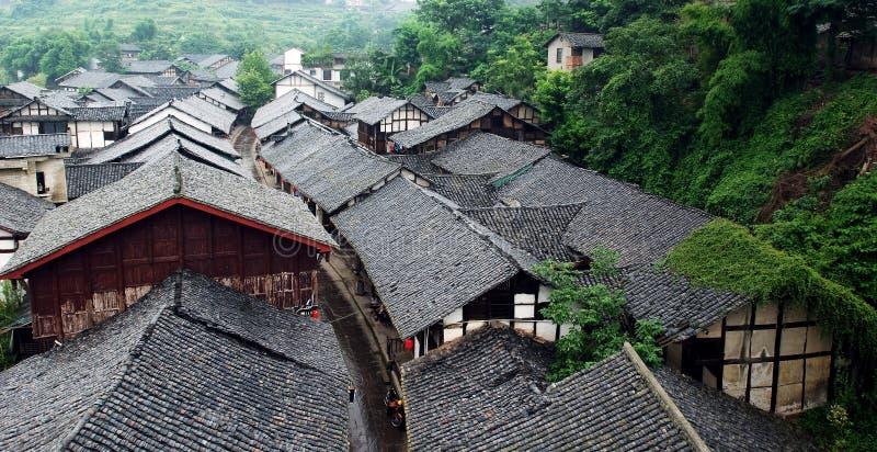 Ciudad vieja de China fotografía de archivo libre de regalías