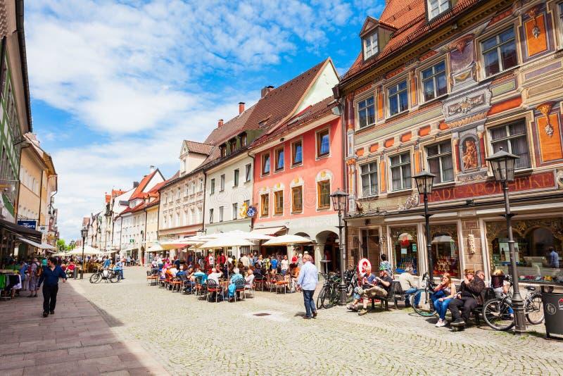 Ciudad vieja de Fussen, Alemania fotografía de archivo libre de regalías