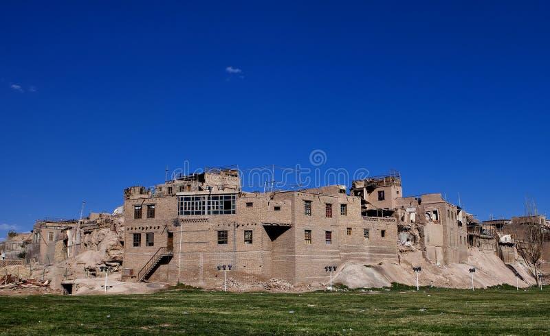 Ciudad vieja de Kashgar foto de archivo libre de regalías
