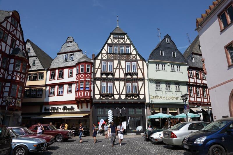 Ciudad vieja de Limburgo, Alemania foto de archivo