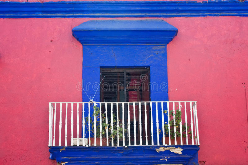 Ciudad vieja de Oaxaca imágenes de archivo libres de regalías