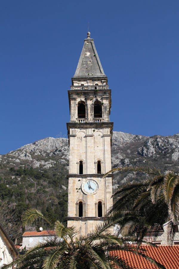 Ciudad vieja de Perast - Montenegro imagen de archivo