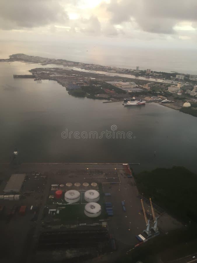 Ciudad vieja de San Juan Puerto RIco fotografía de archivo libre de regalías