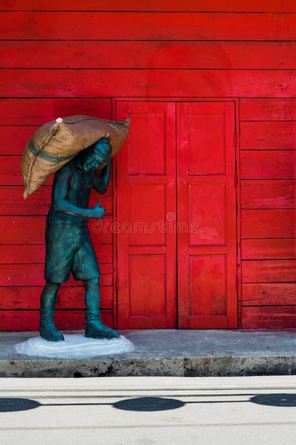 Ciudad vieja de Songkhla foto de archivo libre de regalías