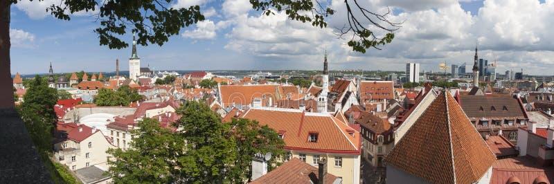 Ciudad vieja de Tallinn, Estonia fotos de archivo