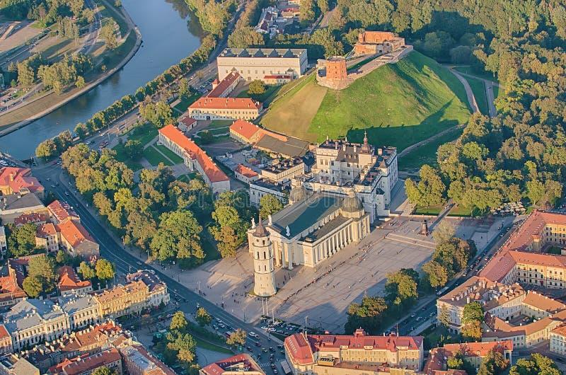 Ciudad vieja de Vilna, Lituania imágenes de archivo libres de regalías