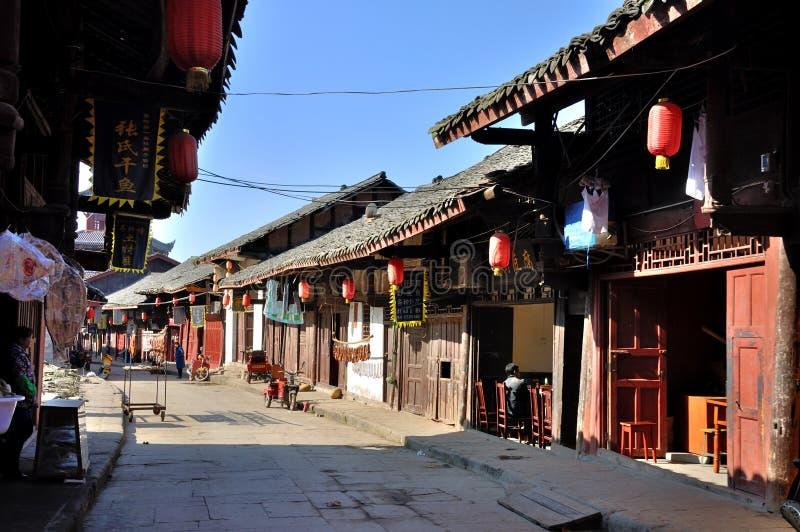 Ciudad vieja de Zhouzi fotografía de archivo