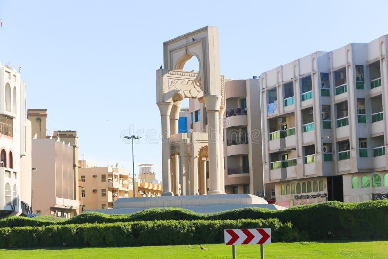 Ciudad vieja Dubai, UAE de Fahidy foto de archivo