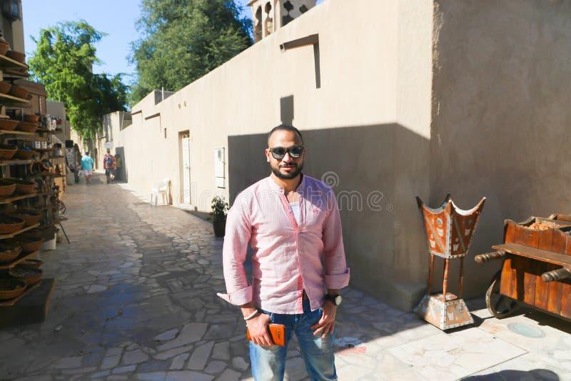 Ciudad vieja Dubai, UAE de Fahidy imagenes de archivo