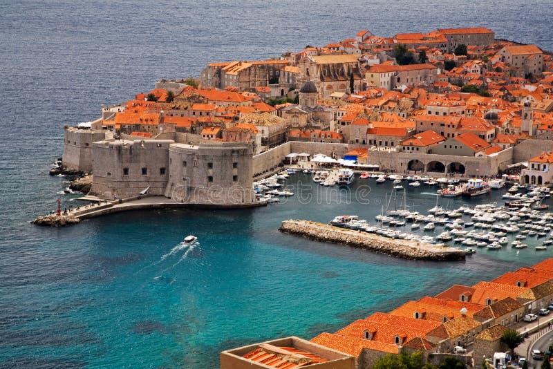 Ciudad vieja Dubrovnik foto de archivo