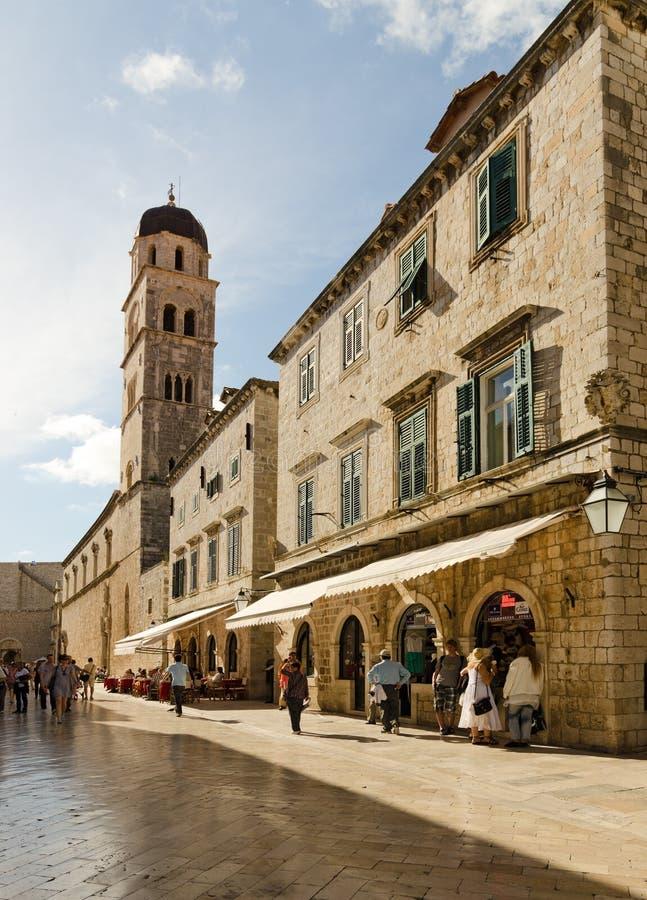 Ciudad vieja, Dubrovnik, Croacia foto de archivo libre de regalías