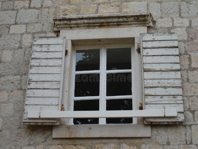Ciudad vieja en Budva foto de archivo libre de regalías