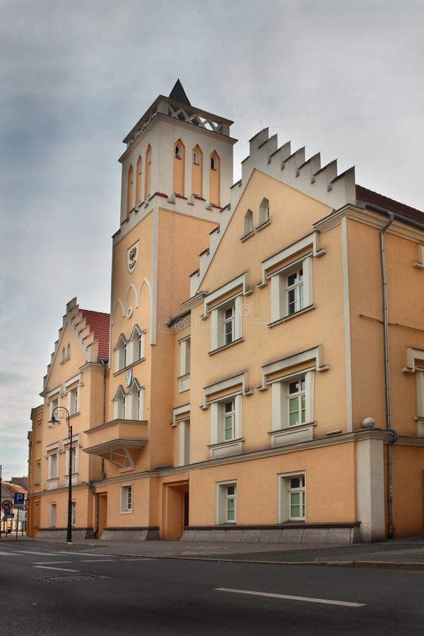 Ciudad vieja en el solenoide de Nowa imagen de archivo