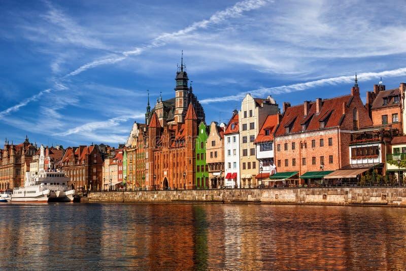Ciudad vieja en Gdansk imagen de archivo