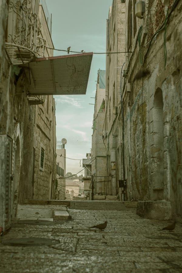 Ciudad vieja en Jerusalén imágenes de archivo libres de regalías