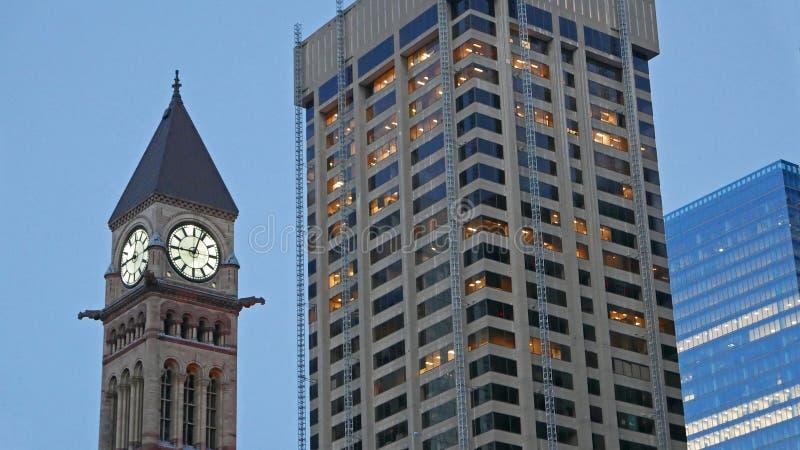 Ciudad vieja Hall Toronto Canada fotos de archivo libres de regalías
