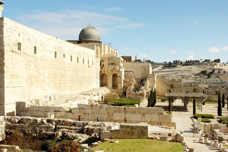Ciudad vieja Jerusalén Israel fotografía de archivo libre de regalías