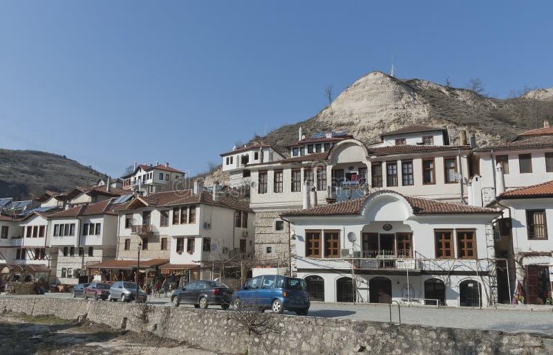 Ciudad vieja Melnik fotografía de archivo libre de regalías