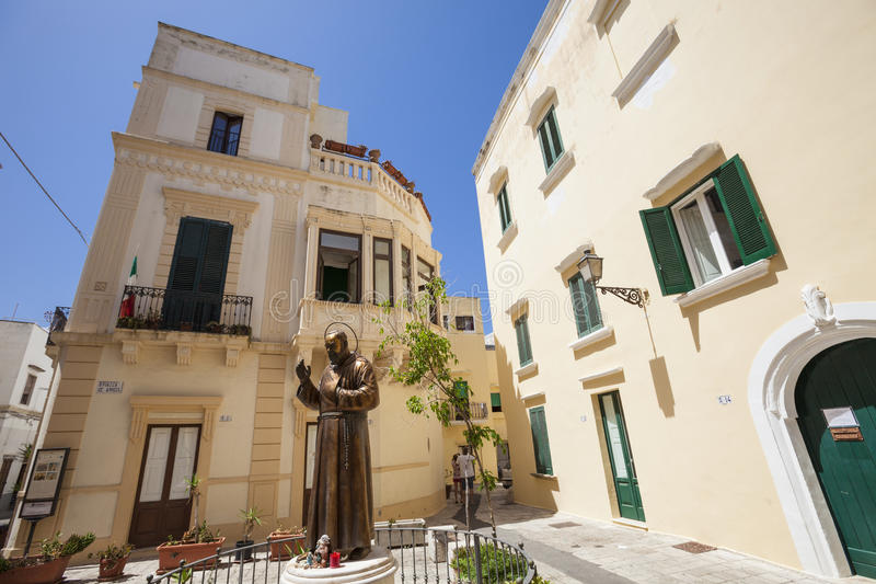 Ciudad vieja meridional de Italia fotografía de archivo