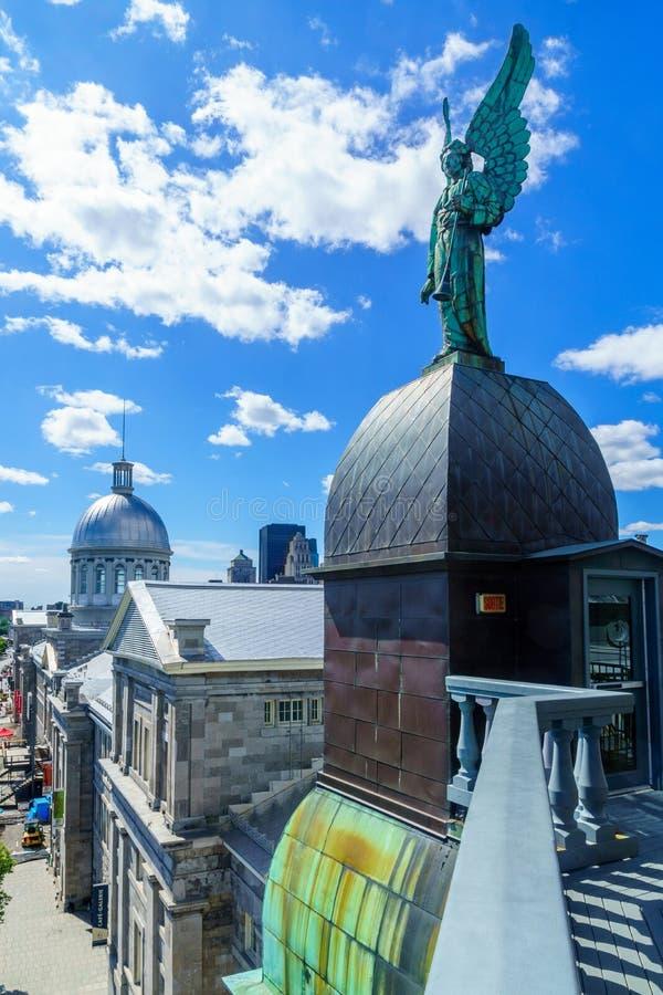 Ciudad vieja, Montreal imagen de archivo libre de regalías