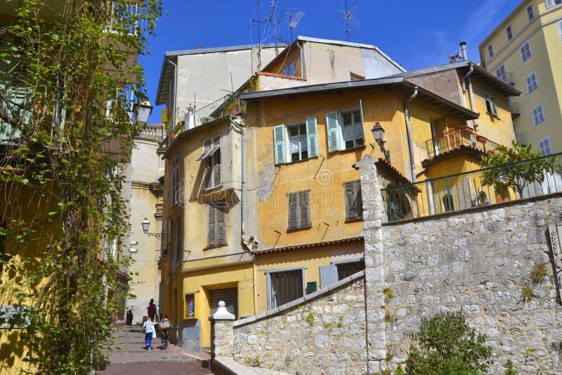Ciudad vieja, Niza, Provence-Alpes-Cote D'Azur, Francia foto de archivo libre de regalías