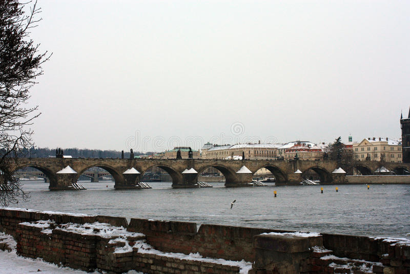 Ciudad vieja Praga fotografía de archivo