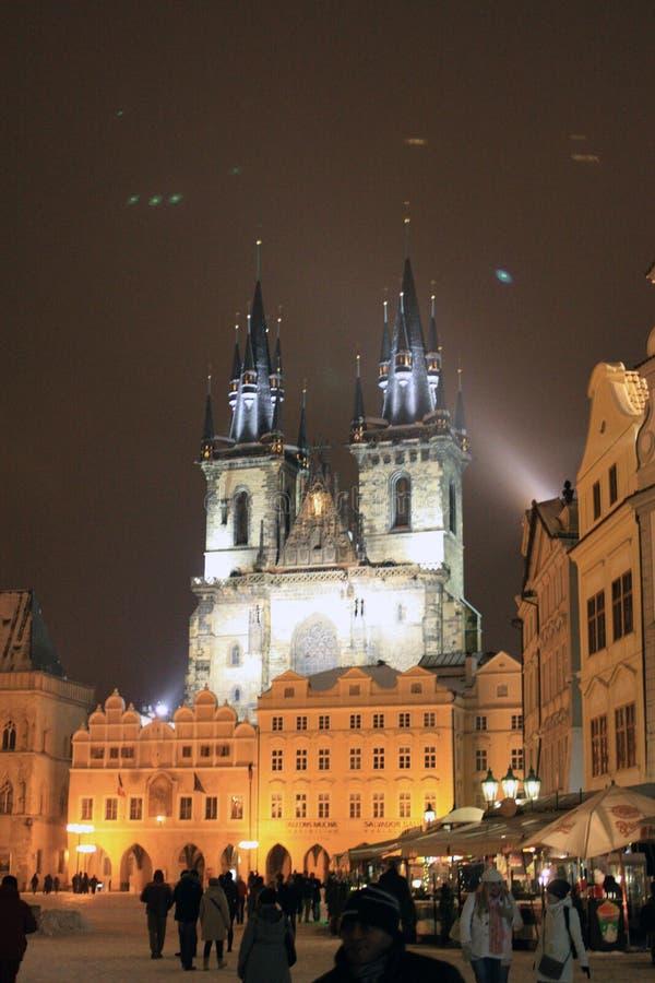 Ciudad vieja Praga foto de archivo libre de regalías