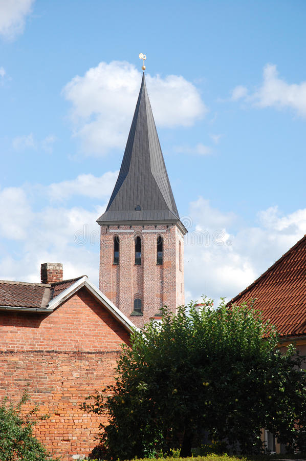Ciudad vieja Tartu, Estonia imagenes de archivo