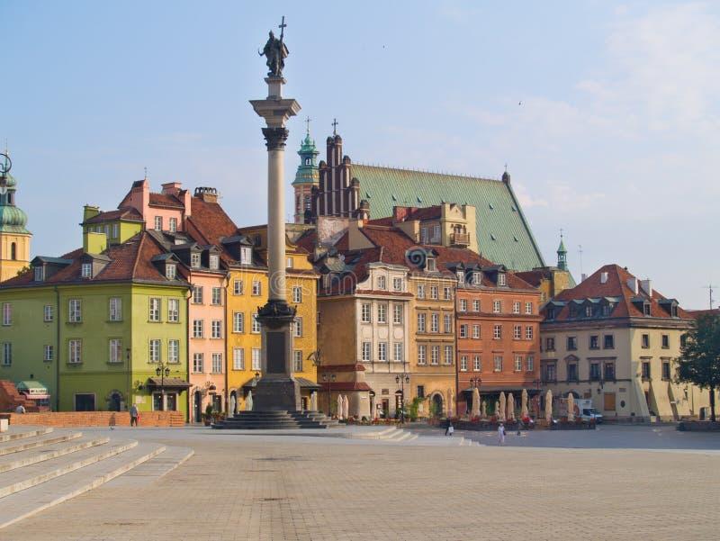 Ciudad vieja, Varsovia foto de archivo libre de regalías