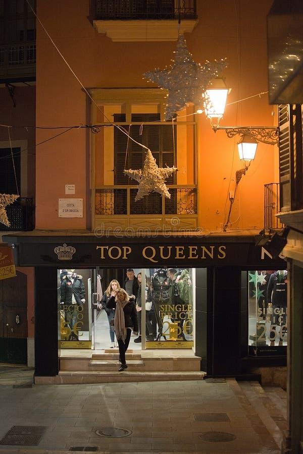 Ciudad vieja y tienda superior del Queens imagen de archivo libre de regalías