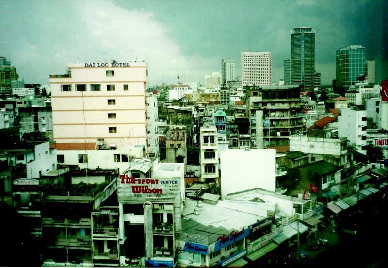Ciudad Vietnam fotografía de archivo