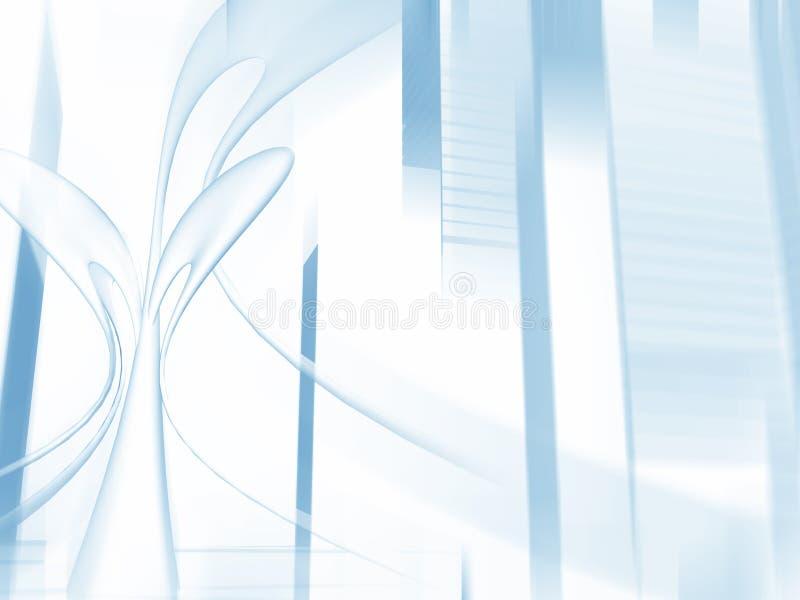 Ciudad virtual II stock de ilustración
