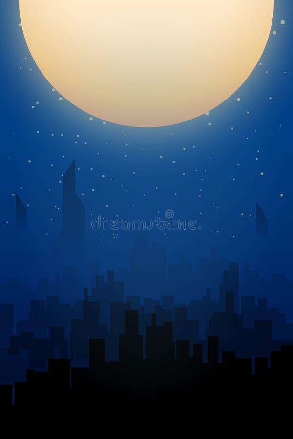 Ciudad y luna