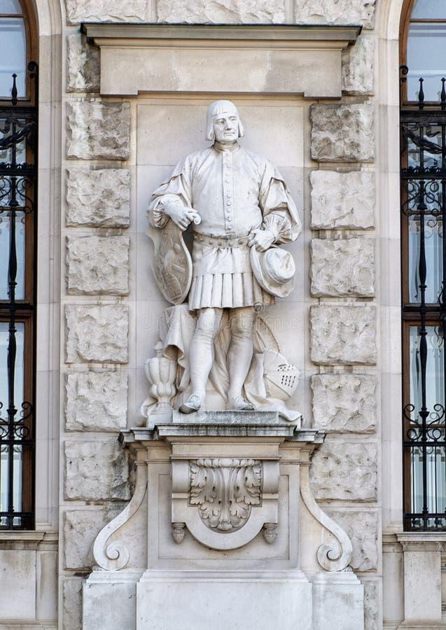Ciudadanos o ciudadano de la ciudad de Emmerich Alexius Swoboda de Wikingen, del Burg o de New Castle, Viena, Austria de Neue fotos de archivo libres de regalías