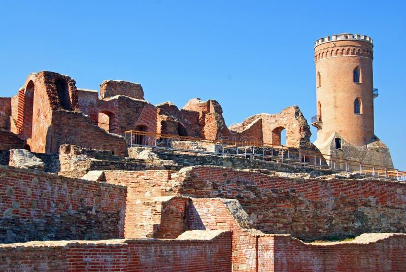 Ciudadela antigua de Targoviste foto de archivo libre de regalías