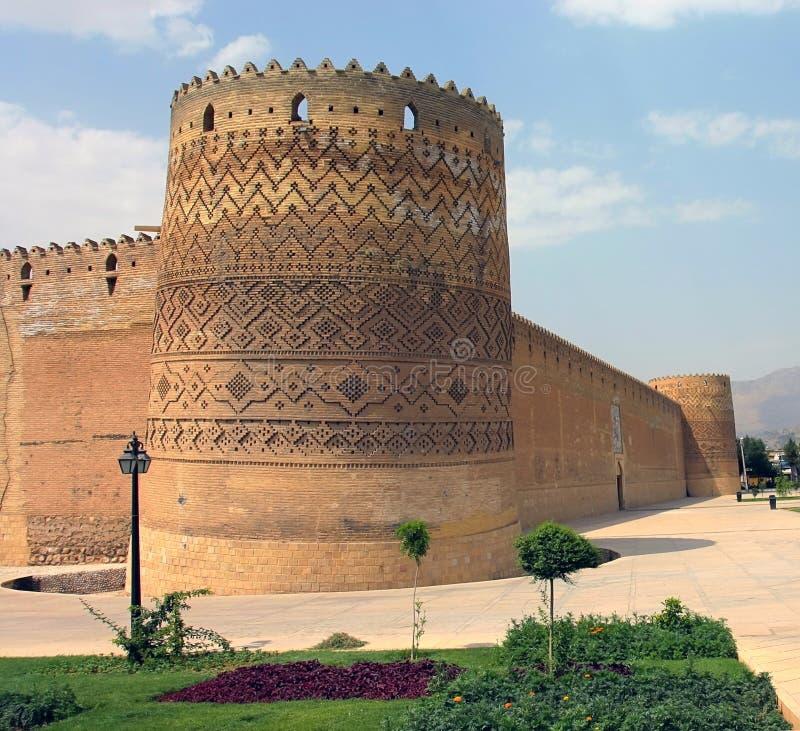 Ciudadela de Karim Khan, Shiras, Irán imagen de archivo