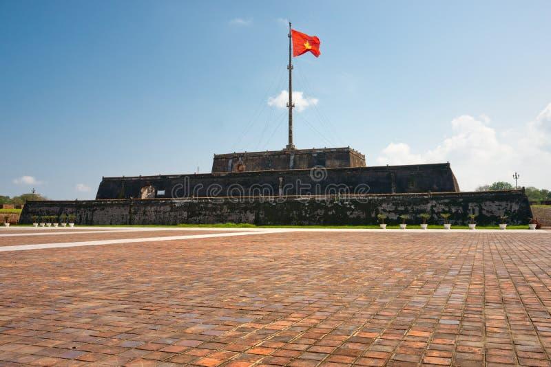 Ciudadela de la tonalidad de la torre del indicador (choza Co), Vietnam fotografía de archivo
